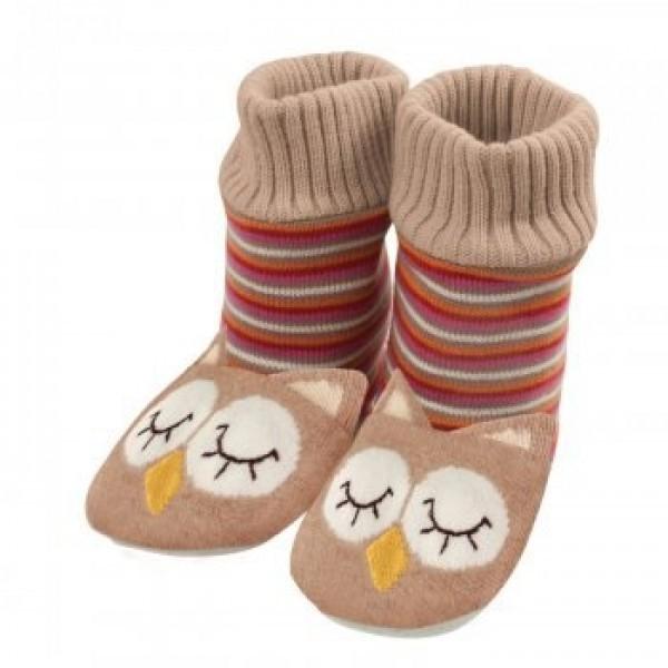 Тапочки-носочки Совята
