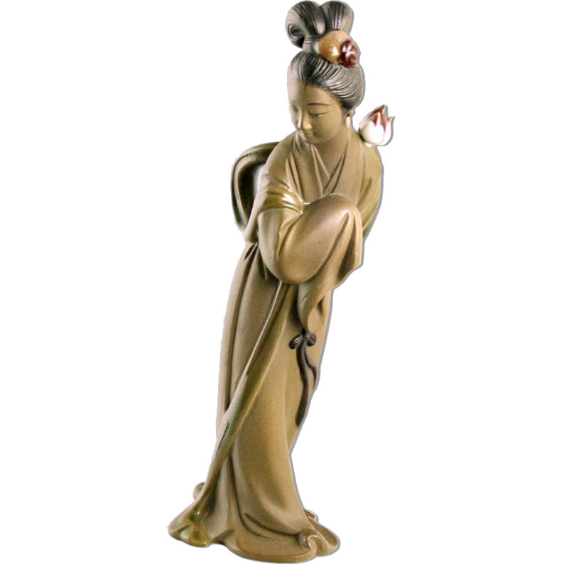 Фигура Хэ Сяньгу  одна из Восьми Бессмертных