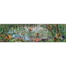 Панорамный мегапазл Educa Джунгли (33600 элементов)