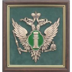 Панно с эмблемой Министерства Юстиции РФ