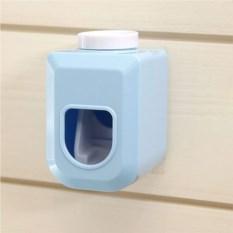 Голубой дозатор для зубной пасты Лаконичный