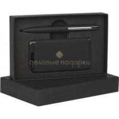 Черный набор ручка и зарядное устройство