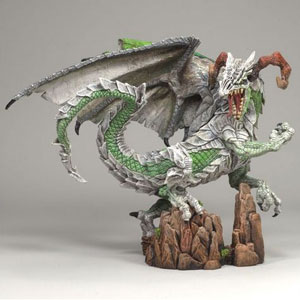 McFARLANE DRAGONS- WARRIOR DRAGON CLAN