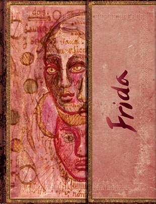 Записная книжка Фрида Кало Двойной портрет Mini Wrap