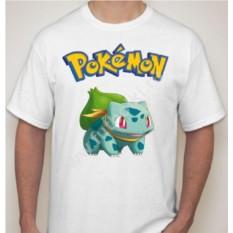 Мужская футболка с покемоном Бульбазавр