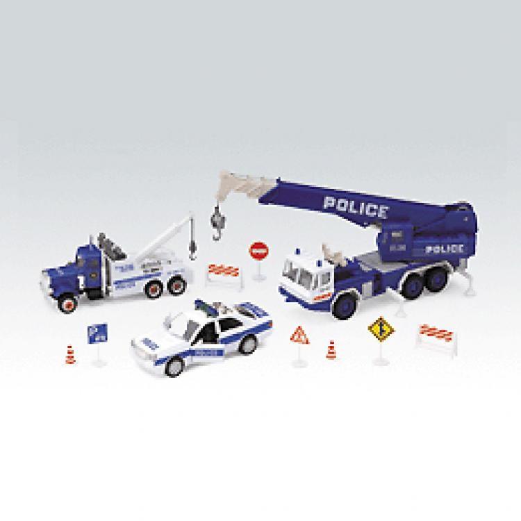 Игровой набор машин Полиция Welly