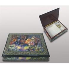 Деревянная шкатулка для ювелирных изделий