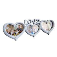 Настенный коллаж-фоторамка Love