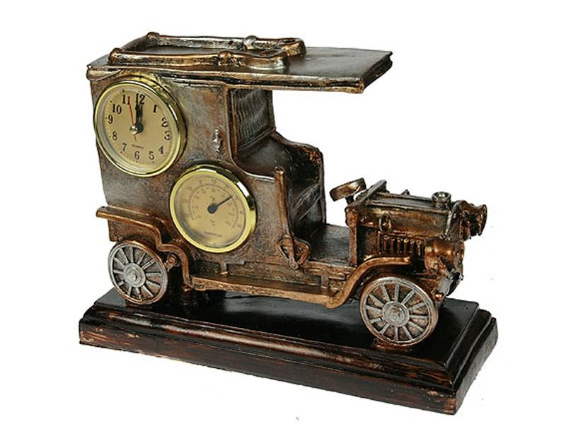 Настольные часы-термометр Автомобиль настольные