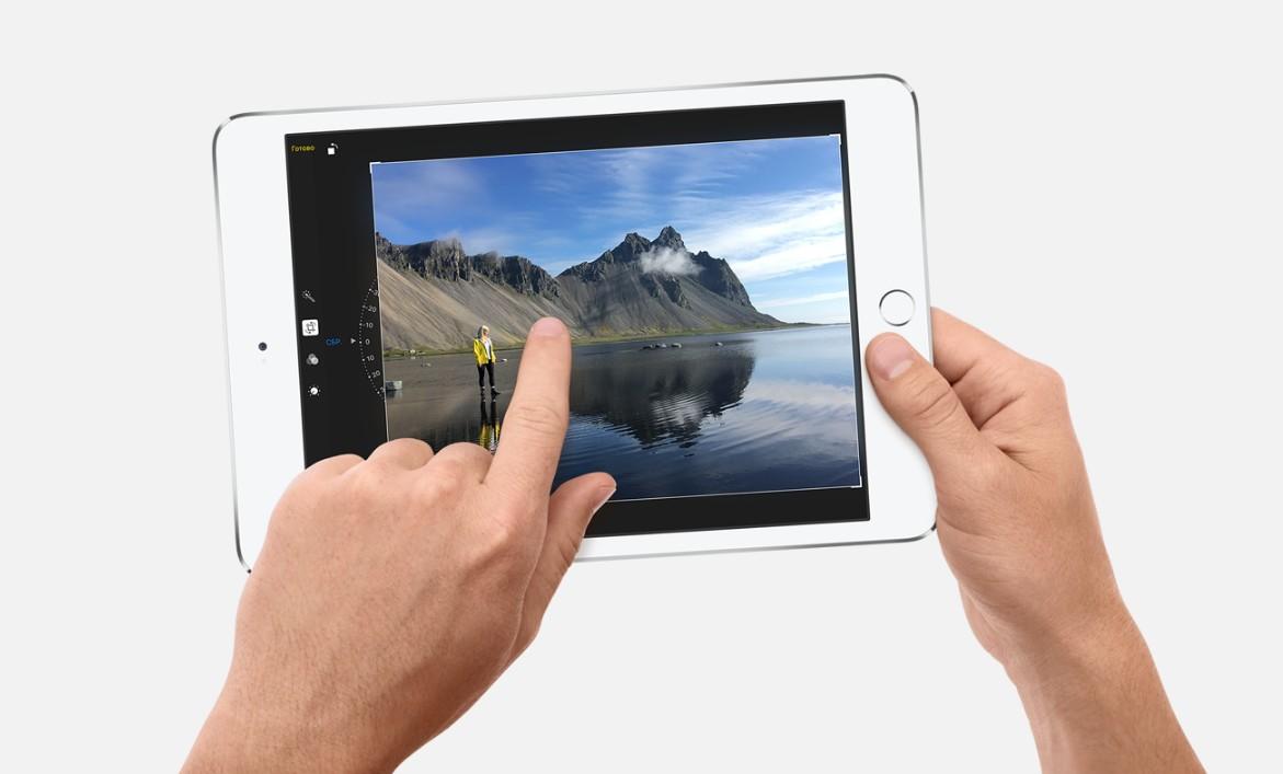Apple iPad mini 4 64gb Wi-Fi (цвет Белый/Silver)