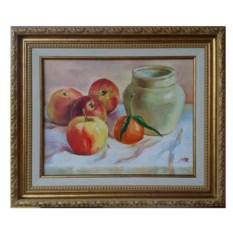 Картина Яблоки и ваза