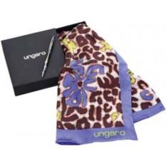 Набор Ungaro: шариковая ручка и шелковый платок Petali