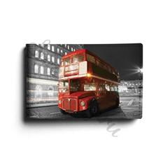 Кожаная визитница London Bus