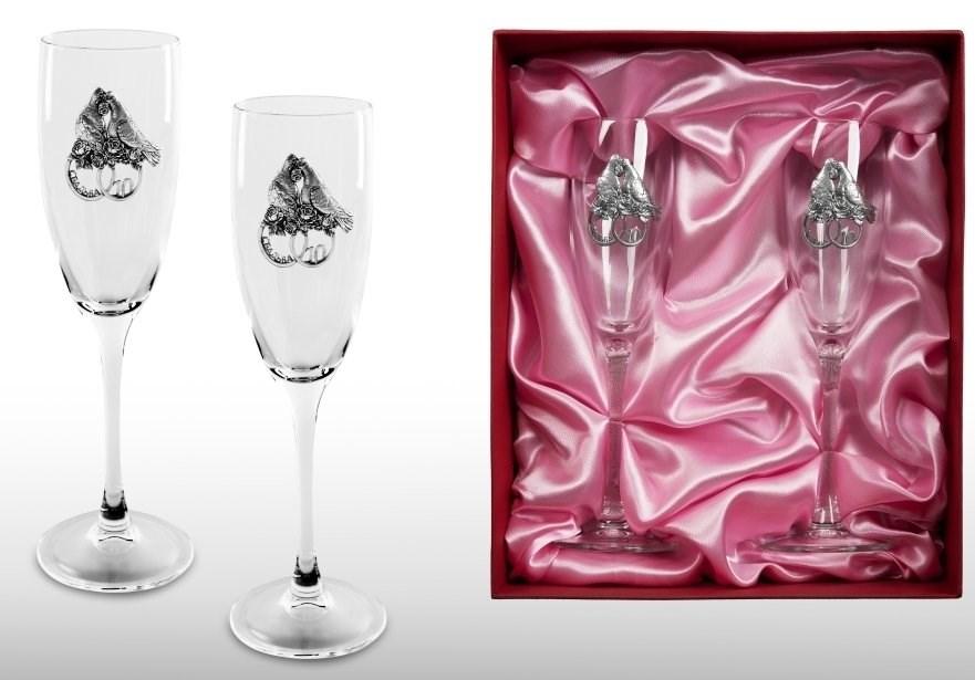 поздравление к подарку бокалы для шампанского художник