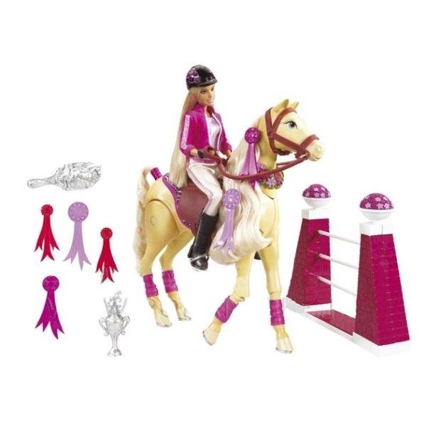 Барби и лошадь Тони
