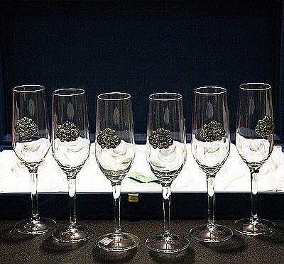 Набор фужеров для шампанского «Fiori»