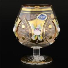 Набор из 6 бокалов для бренди 230 мл Jahami Золото