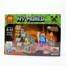 Конструктор Lele Minecraft Стив, 92 детали