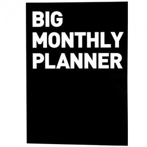 Большая книжка-планер для проектов, черная