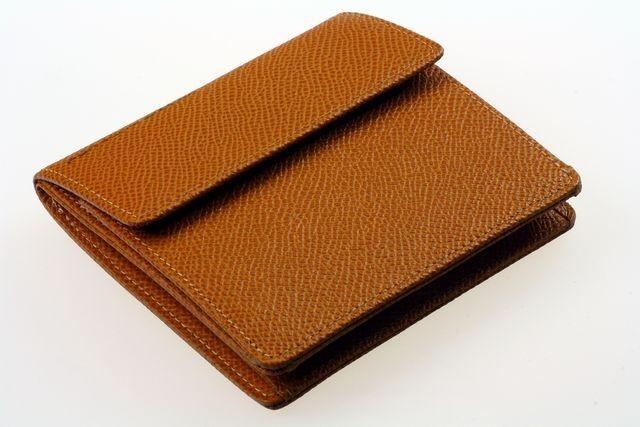 Кошелек Porshe Design F6, песочного цвета