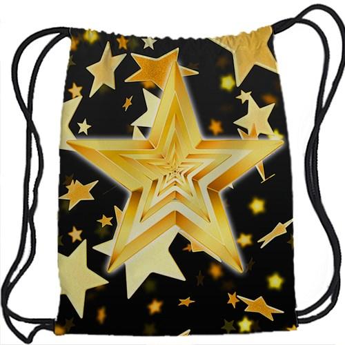 Рюкзак-мешок Желтые звезды