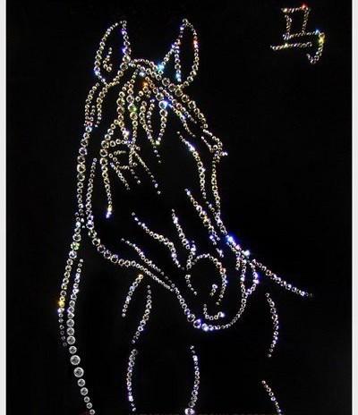 Картина Символ года Лошадь 30х40 см
