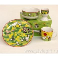 Детский набор посуды Луг