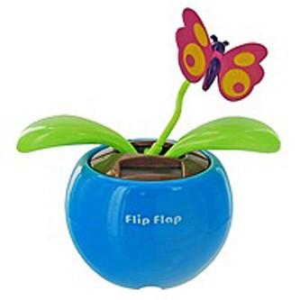 Бабочка Flip Flap на солнечных батарейках
