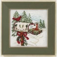Набор для вышивания Праздничная почта