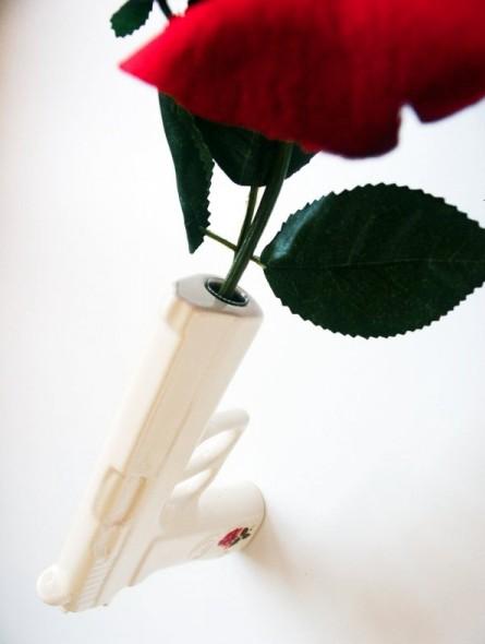 Настенная ваза 3D Gun