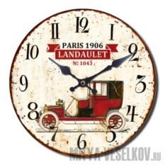 Настенные часы Винтажное авто-3