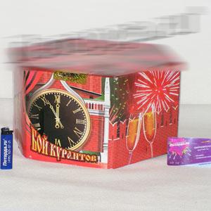Крупная батарея фейерверков  «Бой курантов»