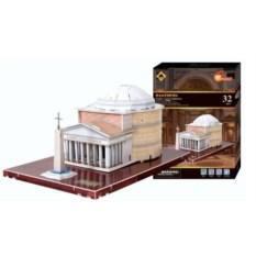 Пазл 3D Пантеон из 32 деталей