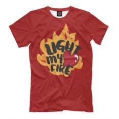 Мужская футболка Light My Fire