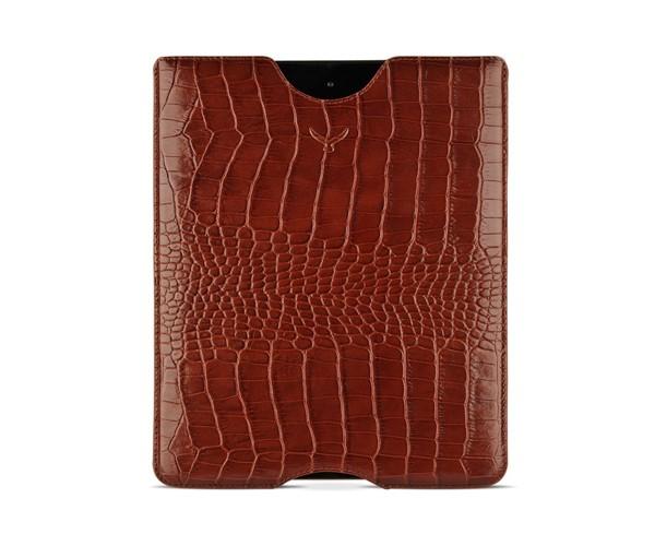 Чехол Mapi для iPad Sestos Durable slim case, кожа крокодила, коричневый