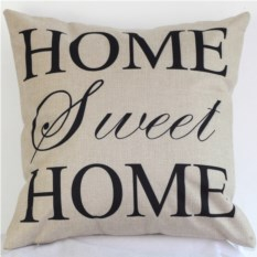 Декоративная наволочка Sweet Home