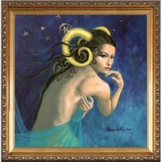 Красивый портрет для женщины-овна