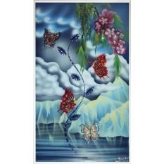 Картина из кристалл Swarovski Полет любви
