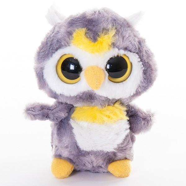 Мягкая игрушка Aurora Юху и его друзья. Сова (12 см)