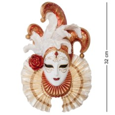 Венецианская маска Шут , высота 32 см