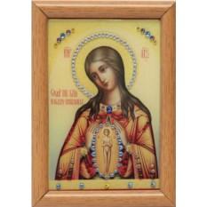 Икона Божией Матери Помощница в родах Swarovski