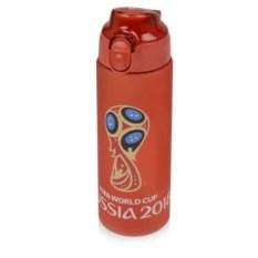 Красная спортивная бутылка 0,6 л FIFA World Cup Russia
