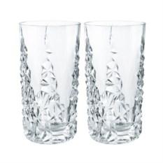 Набор высоких стаканов из хрусталя Sculpture