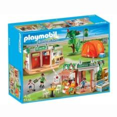 Конструктор Playmobil Summer Fun Большой кемпинг