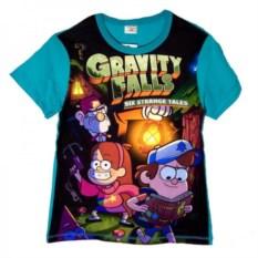 Футболка Gravity Falls Диппер, Мейбл и Стэн