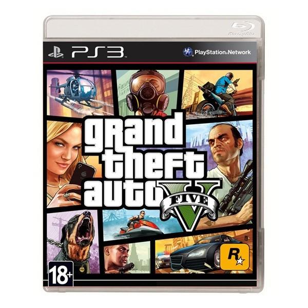 Игра Grand Theft Auto V (PS3)