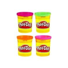 Набор пластилина из 4х банок PLAY-DOH