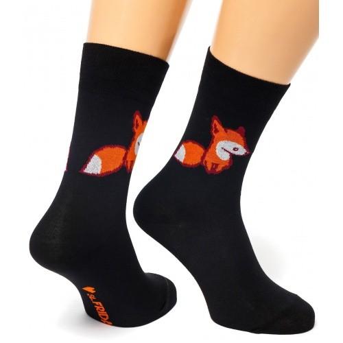 Черные носки Fox & Friday