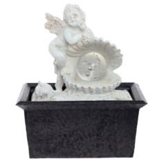 Настольный фонтан со светодиодной подсветкой Ангел