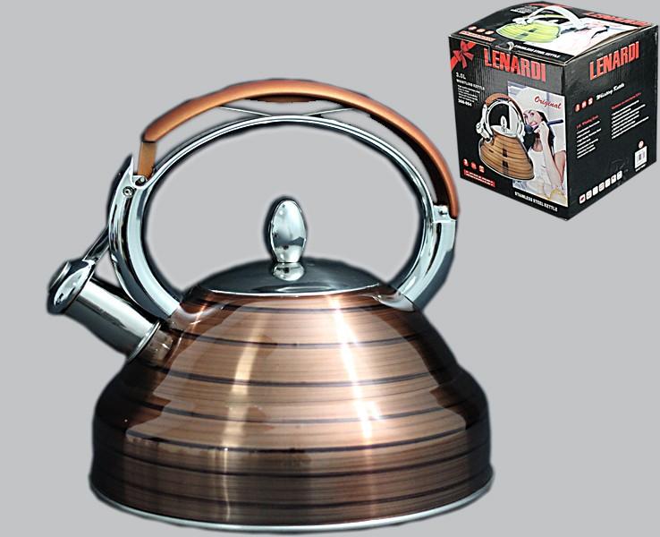 Чайник со свистком в подарочной упаковке